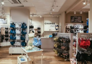 Change butiksinteriör