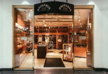 Brobergs butiksexteriör