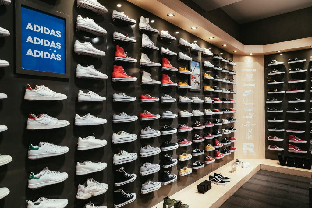 Nilson Shoes interiör