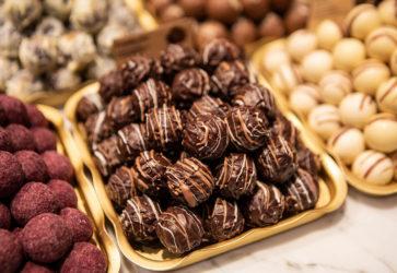 Praliner och choklad
