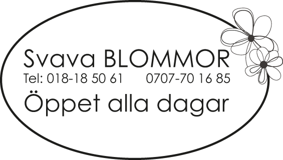 Svava Blommor logotyp