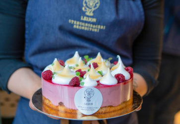 Tårta från Leijon Stenugnsbageri & Konditori